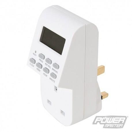 PMASTER Zásuvkové digitální spínací hodiny - 7 Day 262755 5024763045554