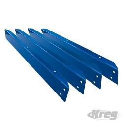 "Universal Bench Rails Set 4pce - KBS1005 356mm (14"")"
