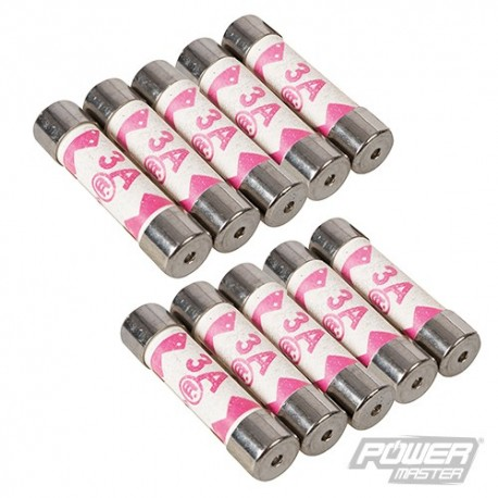 Fuses 10pk - 3A