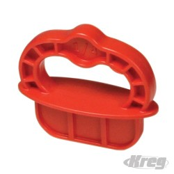 "Deckspacer - Deckspacer 1/4"" Red"