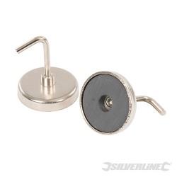 Magnetyczne haczyki 2 szt. - 35 mm