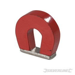Horseshoe Magnet - 25 x 22 x 8mm