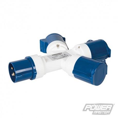 16A 3-Gang Splitter - 240V 3 Pin