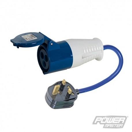 13 A - 16 A Redukce - 13A Plug to 16A Socket
