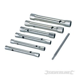 Box Spanner Metric Set 6pce - 8 - 19mm