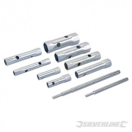 Silverline Sada trubkových klíčů - 8 dílů - 8 - 22mm 571532 5024763029837