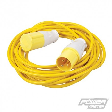 Extension Lead 16A - 110V 10m 3 Pin