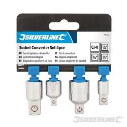 Socket Converter Set 4pce - 4pce