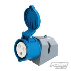 32A Surface-Mountable Socket - 230V 3 Pin