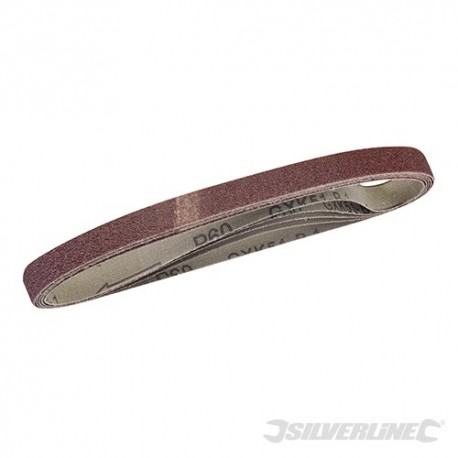 Sanding Belts 10 x 330mm 5pk - 60 Grit
