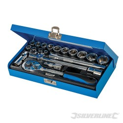 "Socket Wrench Set 3/8"" Drive Metric 20pce - 20pce"