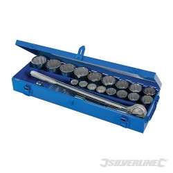 "Socket Set 3/4"" Drive Metric 21pce - 21pce"