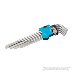 "Expert Hex Key Imperial Set 10pce - 1/16"" - 3/8"""