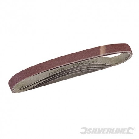 Sanding Belts 13 x 457mm 5pk - 120 Grit