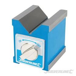 Pryzma traserska magnetyczna - 70 x 60 x 70 mm