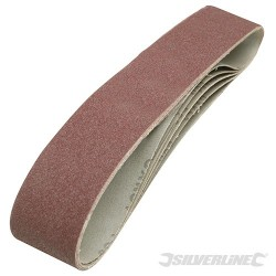 Sanding Belts 50 x 686mm 5pk - 80 Grit