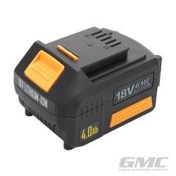 18V Li-Ion Batteries - GMC18V40 4.0Ah