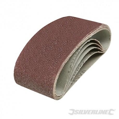 Sanding Belts 60 x 400mm 5pk - 40 Grit