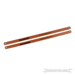 Zestaw brzeszczotów do metalu Bi-Metal, 2 szt. - 18 TPI