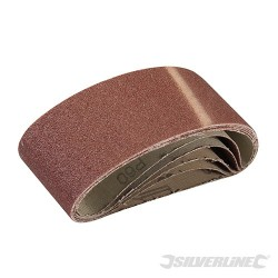 Sanding Belts 60 x 400mm 5pk - 60 Grit