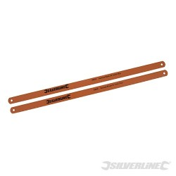 Zestaw brzeszczotów do metalu Bi-Metal, 2 szt. - 24 TPI