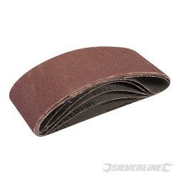 Sanding Belts 60 x 400mm 5pk - 120 Grit