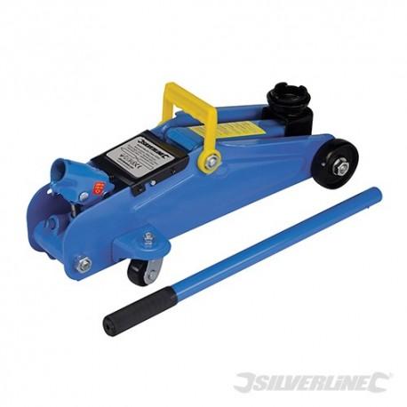 Silverline Pojízdný hydraulický zvedák - 2 Tonne 633935 5024763026317