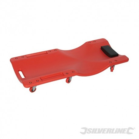 Silverline Plastové lehátko pro mechaniky - 6 Wheel 126056 5024763067808