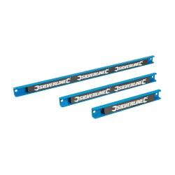 Magnetic Tool Rack Set 3pce - 200, 300 & 460mm