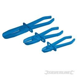 Sada flexibilních svěrek hadic - 3 díly - 3pce