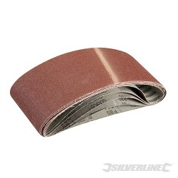 Sanding Belts 100 x 610mm 5pk - 80 Grit
