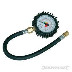 Manometr z wezykiem - 0 - 10 bar (0 - 100 psi)