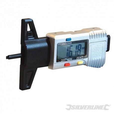 Silverline Digitální hloubkoměr - 0 - 25mm 273894 5024763031120