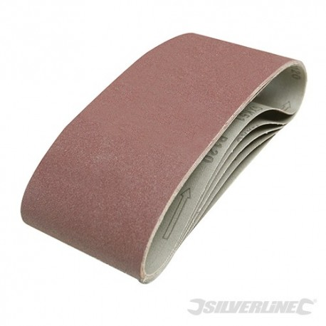 Sanding Belts 100 x 610mm 5pk - 120 Grit