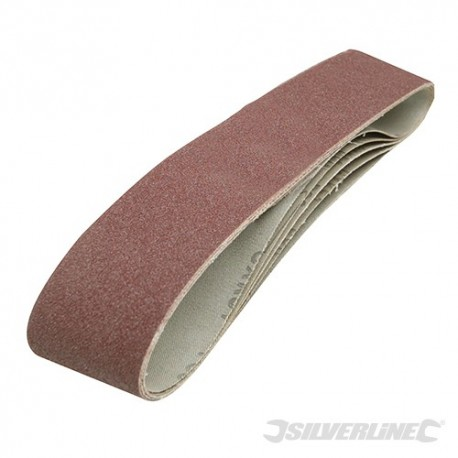 Sanding Belts 100 x 915mm 5pk - 80 Grit