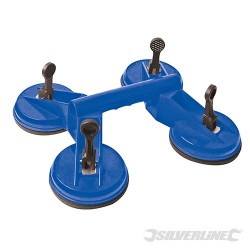 Quad Suction Pad - 120kg