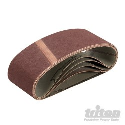 Sanding Belt 64 x 406mm 5pk - 120 Grit