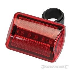 5 LED Bike Lamp - Red