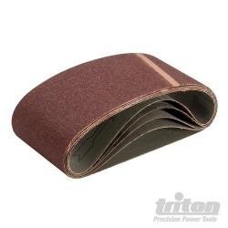Sanding Belt 75 x 457mm 5pk - 80 Grit