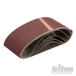 Sanding Belt 75 x 457mm 5pk - 100 Grit