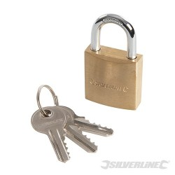 Brass Padlock - 30mm