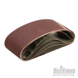 Sanding Belt 75 x 457mm 5pk - 150 Grit