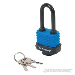 Weather-Resistant Padlock Long Shackle - 48mm