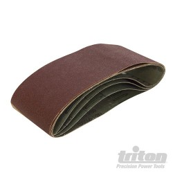 Sanding Belt 75 x 480mm 5pk - 60 Grit