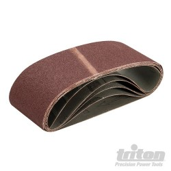 Sanding Belt 75 x 480mm 5pk - 80 Grit