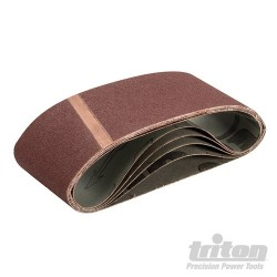 Sanding Belt 75 x 480mm 5pk - 100 Grit
