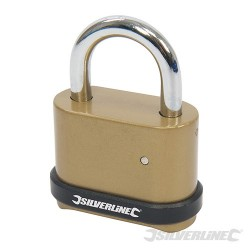 Zinc Alloy Combination Padlock 4-Digit - 50mm