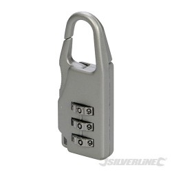 Travel Combination Padlock - 3-Digit