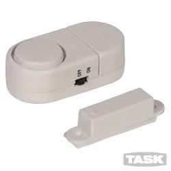 Magnetický dveřní - okenní mini alarm - 3 x 1.5V
