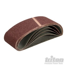 Sanding Belt 75 x 533mm 5pk - 40 Grit